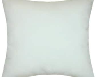 Sunbrella Canvas White Indoor/Outdoor Solid Pillow