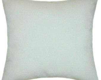 Sunbrella Canvas Natural Indoor/Outdoor Solid Pillow