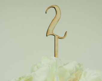 Wooden Table Numbers, Laser Cut Table Numbers for Centerpieces, Numerical