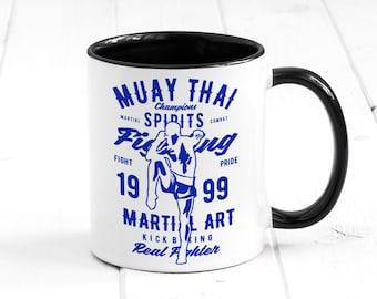 Novelty MMA addict fan fighter ufc bellator mug gift ceramic mug  tea coffee