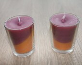 2 PCS Set Scented Candles | Candle Jars | Votive Candles | Top Selling Items | Bridesmaid Candle | Unique Candles