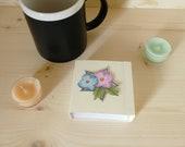 Tee Gastgeschenke (50 Stück pro Set) für Hochzeiten, kleines Buch für 4 Teebeutel, tolles Geschenk für Gäste, Kunden oder Partner