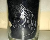 Gravierte Gläser mit Kindermotiv und Name, tolles Geschenk für Kinder, Glasgravur - personalisierbar mit Walt Disney Schrift