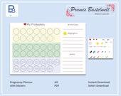 Schwangerschafts Trimester Planer zum Sofort Download, Übersicht über deine Schwangerschaft