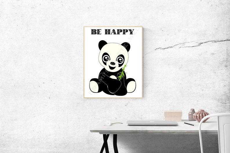Nursery Wall Art Funny Instant Download Cute 300 Dpi image 0