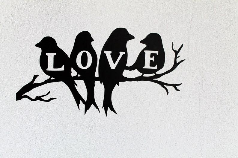 Vinyl stickers birds farmhouse decor housewarming gifts image 0