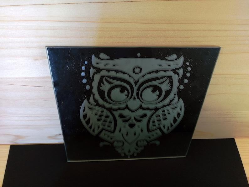 Decorative Mirror glam decor mindfulness gift personalized image 0