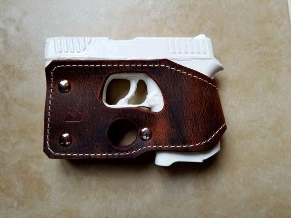 Diamondback Db9 Brown Leather Shoot Thru Pocket Holster Etsy