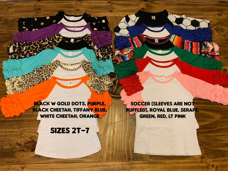 Bodysuit Baby Girl Infant Outfit Toddler Shirt Top Raglan Youth Kids Icing Ruffle Shirts Just a Girl Who Loves Horses Serape