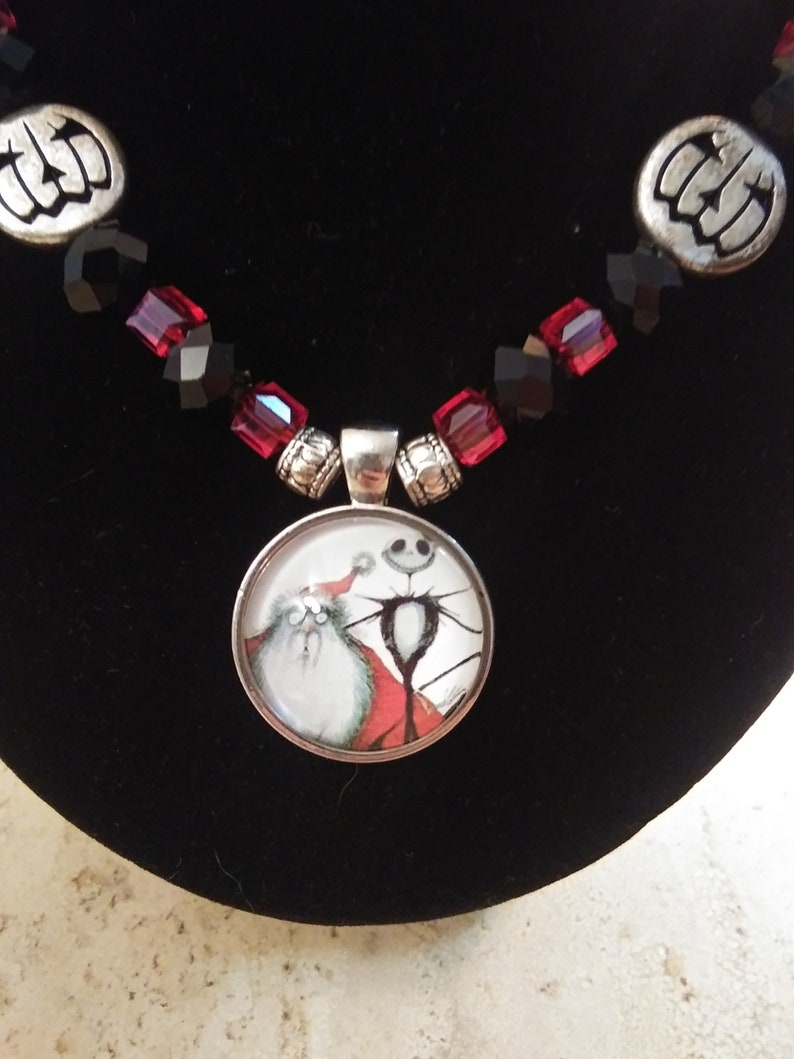 Nightmare Before Christmas necklace