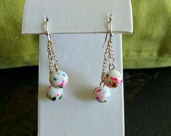 jawbreaker candy dangle earrings