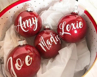 Etsy Christmas Ornaments.Family Christmas Ornaments Etsy