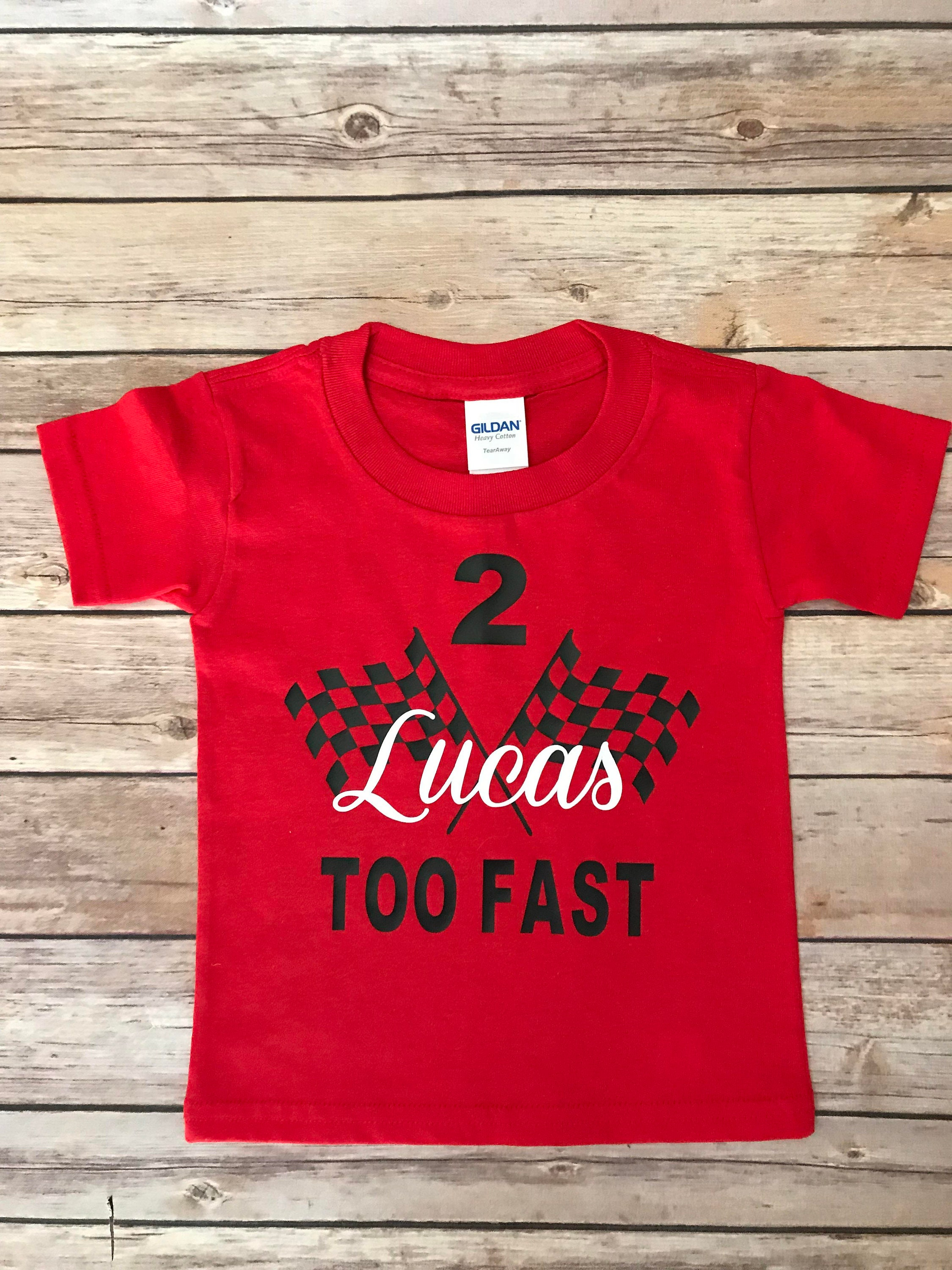 2nd Birthday Shirt Cars Themed For Child Turning 2