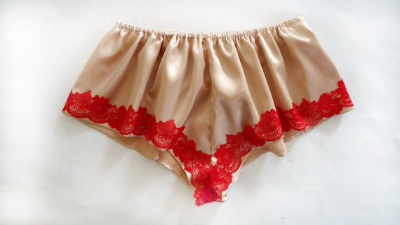 263ef80cf French knickers satin knickers satin panties red lingerie