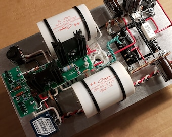 Upgraded Bottlehead Crack 1.1 OTL Headphone Amplifier with Speedball Upgrade Mundorf Caps and Blue Alps Potentiometer - Service Price Only