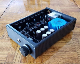 Whammy Headphone Amplifier/PreAmp with Hammond Case - OPA627 AD797 Burson V6 Sparkos Labs available - Whammy Amp - Service Price Only