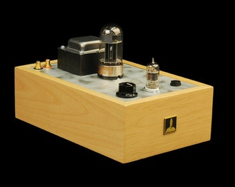 Basic Bottlehead Crack 1.1 OTL Headphone Amplifier with Speedball Upgrade Wiring Only No Paint Stain or Finish - Service Price Only