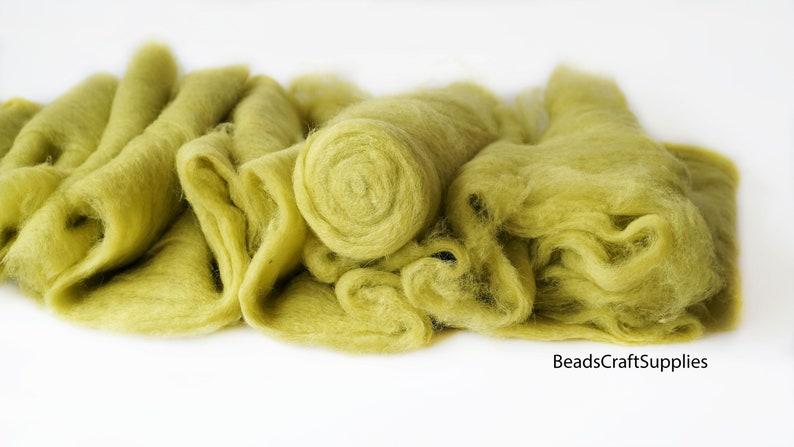 5013 Wool For Nuno Felting Craft Project Needlecraft Fiber Art Supply Bright Color Assortment 100/% Natural Roving Extra Fine Felting Wool