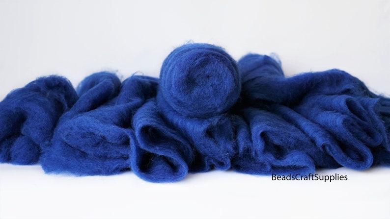 6002 Wool For Nuno Felting Craft Project Needlecraft Fiber Art Supply Bright Color Assortment 100/% Natural Roving Extra Fine Felting Wool
