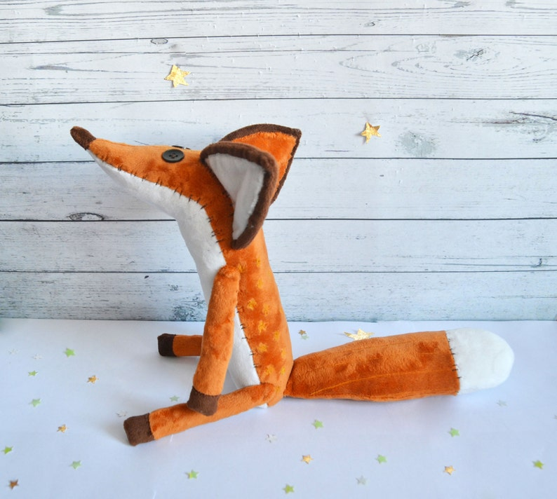 Mr. Fox from animated cartoon The Little Prince FOX  Fox image 1