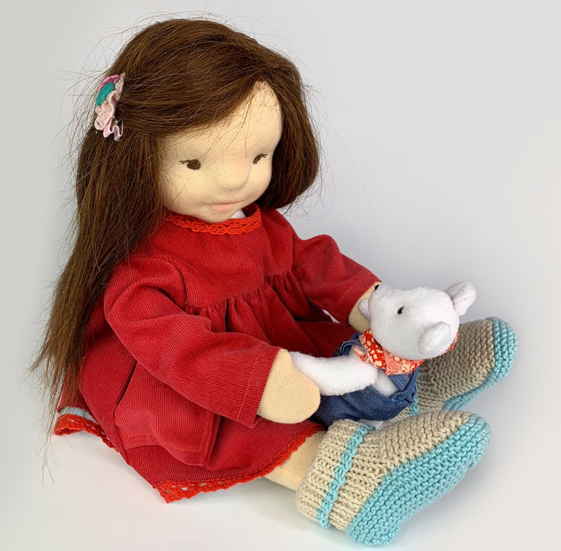 """eGuide How to make a Doll Waldorf Doll 17/""""43cm"""