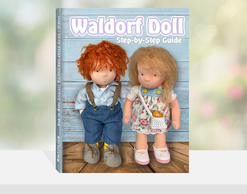 Waldorf Doll Step-by-Step Guide  PDF Patterns  Waldorfpuppe image 0