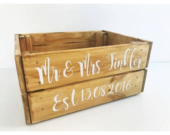 fe8ca5f656b Wedding crates