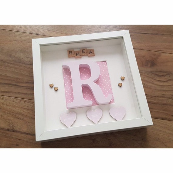 New Baby Gift Personalised Present Decoration
