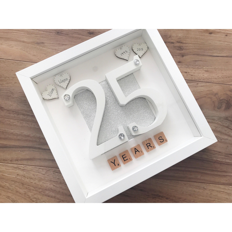 Twenty Fifth Wedding Anniversary Gift Ideas: Twenty Fifth Wedding Anniversary Gift Silver Wedding 25