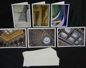 Greeting Cards, Washington DC, Architecture Photography, Photography Greeting Cards