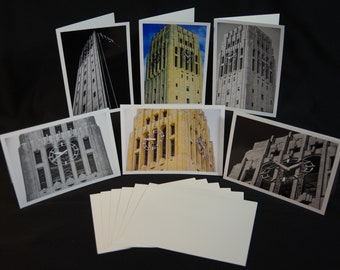 Greeting Cards, Burton Tower, University of Michigan, Architecture Photography, Photography Greeting Cards