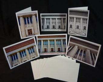 Greeting Cards, Hill Auditorium, University of Michigan, Architecture Photography, Photography Greeting Cards