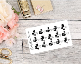 Shopping Day Stickers - For Erin Condren Life Planner or Happy Planner