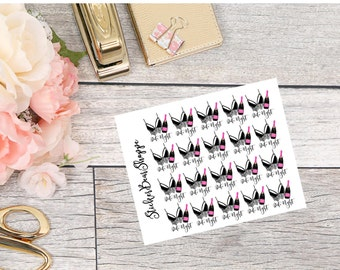 Date Night Stickers - For Erin Condren Life Planner or Happy Planner