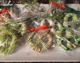 St Patrick's Day Original Pretzels/Hostess Gifts/St Patty Day/Thank You Gifts/Birthday's/Teacher's Gifts/Showers/Weddings