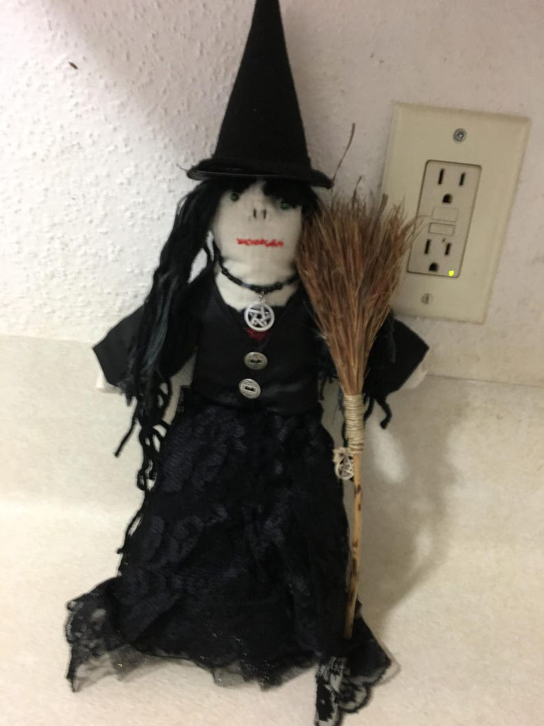 Lavender Filled Witches HooDoo Doll