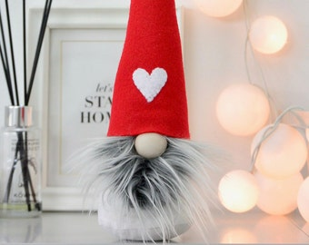 Gnome, Funny Gift for Him or Her, Handmade Authentic Nordic Gnome made by Nordichrista, Scandinavian Home Decor