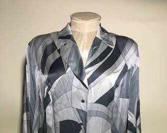 Vintage Escada Silk Blouse