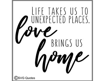 Love Brings Us Home Etsy