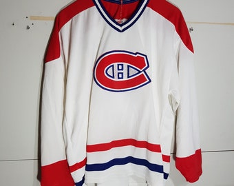 916f6963e9a Vintage Montreal Canadiens jersey, Montreal Canadians jersey, 90 s CCM  jersey, authentic, NHL jerseys, Habs, the forum, Carey Price