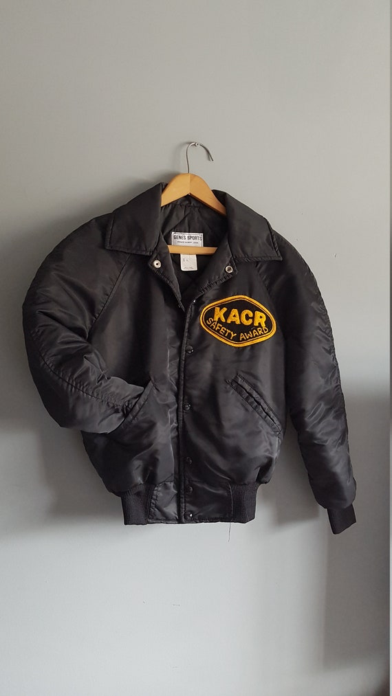 Pierre Cardin 80s Brown Leather Bomber 80s Leather Jacket TaraLynEvansStudio