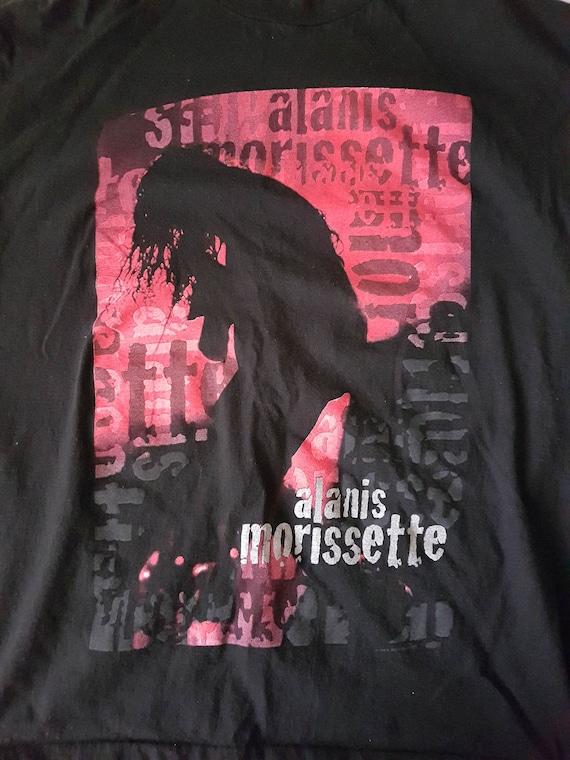Vintage Alanis Morissette tour t shirt, tour t shi
