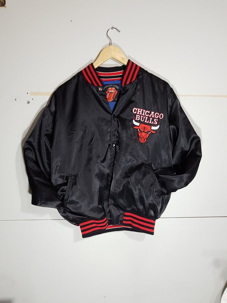 adff0da69cda Vintage Chicago Bulls bomber jacket vintage NBA jackets NBA