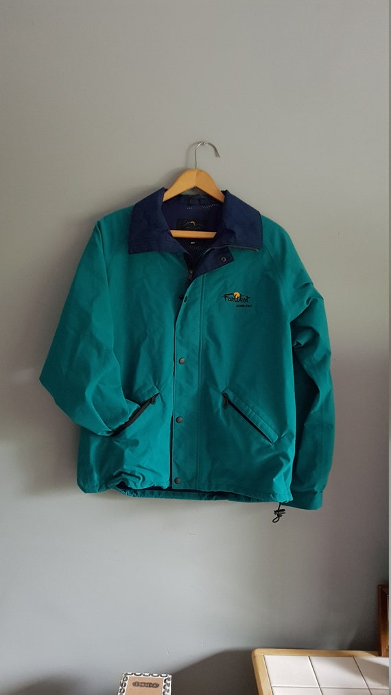 Vintage gore tex jacket, light jackets, funky colo