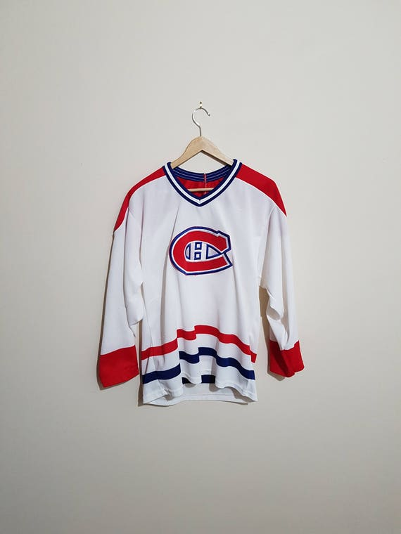 106bf0314 Vintage Montreal Canadiens jersey Montreal Canadians jersey