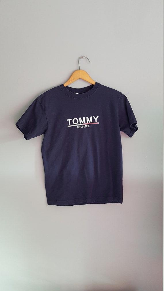 Vintage Tommy Hilfiger t shirt, 90s Tommy hilfiger