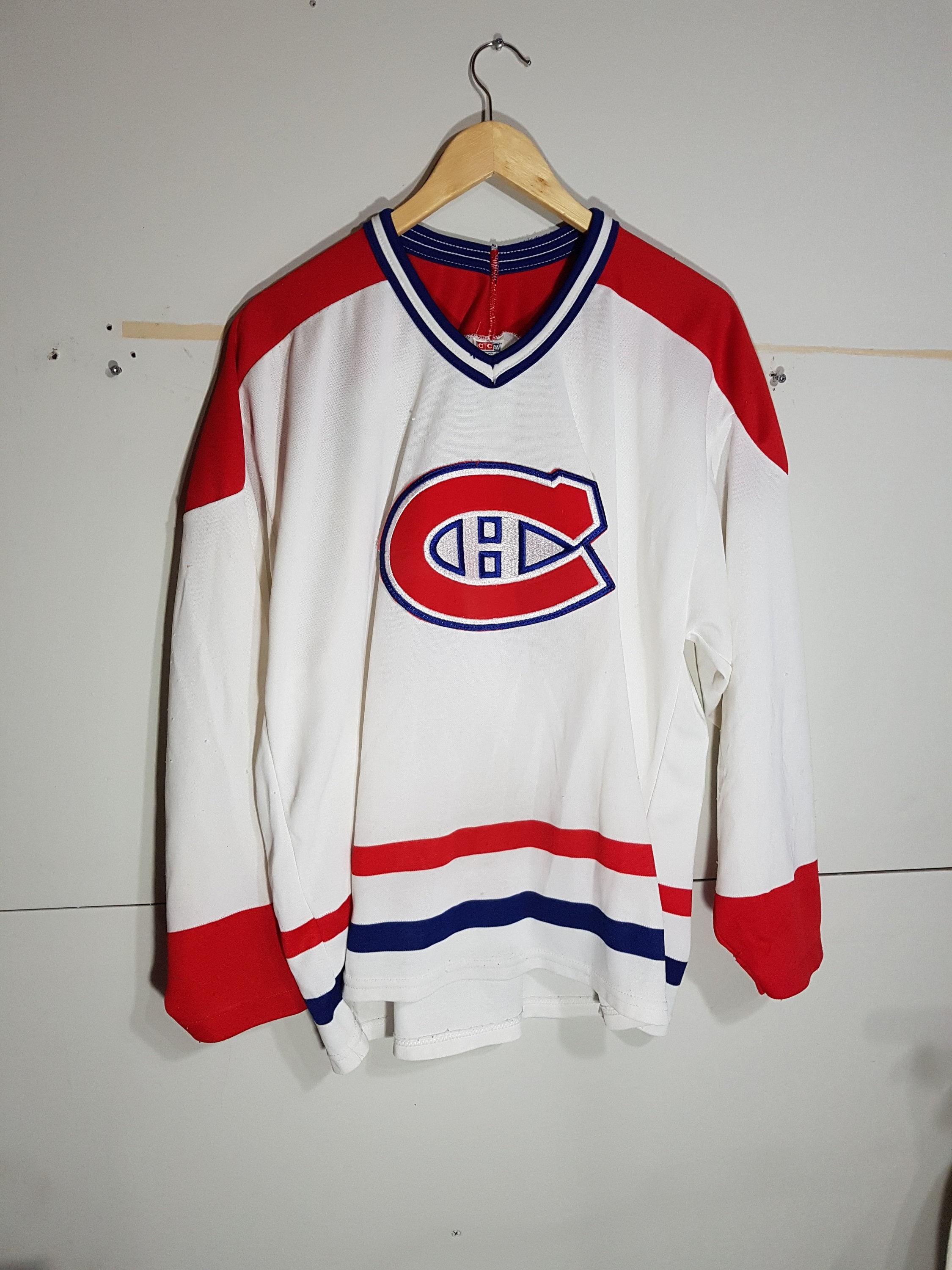 promo code 67cf6 2a0f3 Vintage Montreal Canadiens jersey, Montreal Canadians jersey, 90 s CCM  jersey, authentic, NHL jerseys, Habs, the forum, Carey Price