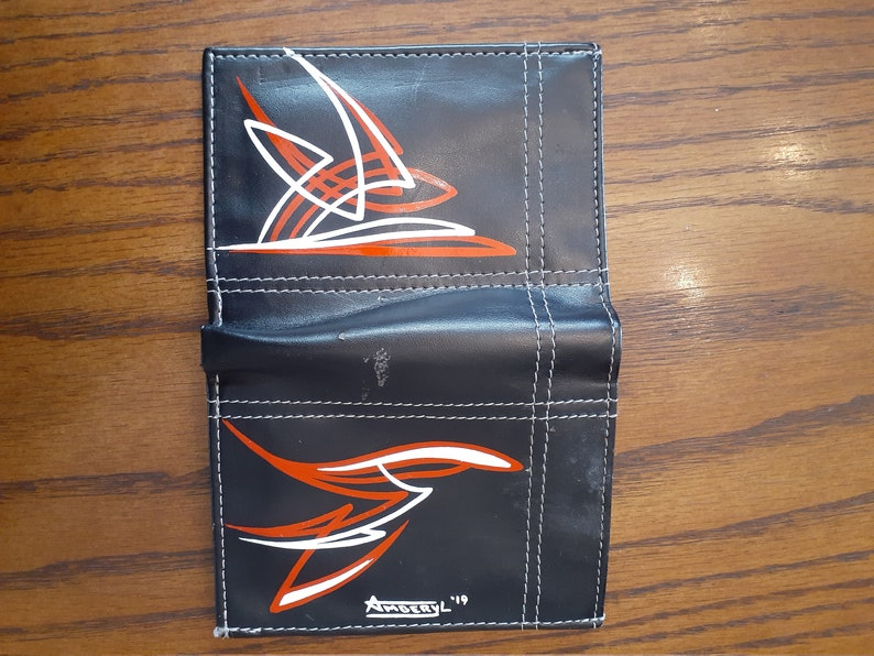 Freehand Pinstriped Wallet