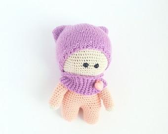 Crochet toys AMIGURUMI toys Crochet AMIGURUMI doll dolls handmade  crochet doll toys Amigurumi doll for a girl  knitted toy