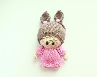 Amigurumi doll for a girl  Crochet toys AMIGURUMI toys Crochet AMIGURUMI doll dolls handmade  crochet doll toys  knitted toy